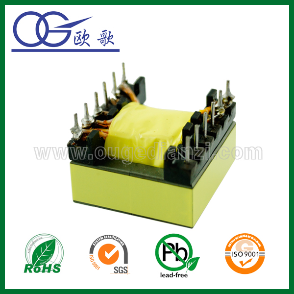 ER2828 electronic transformer for sale,ei audio output transformer with pin 6+6