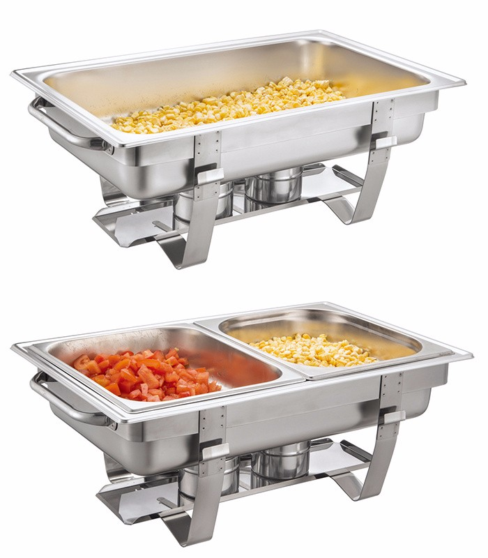 Industrial Food Container : Heavybao economy stainless steel commercial buffet chafing