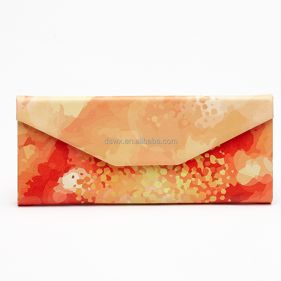 Wholesale Printed Custom Glasses Case Folding