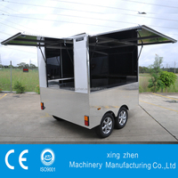 Multi-Use Mobile Catering food Van Trailer For Sale