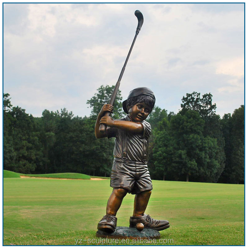 Garden Golfer Statue, Garden Golfer Statue Suppliers And Manufacturers At  Alibaba.com