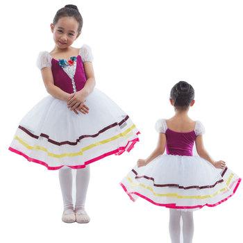afe57005da5a Child   Adult Romantic Length Velvet Top Bodice Ballet Dance Tutu ...