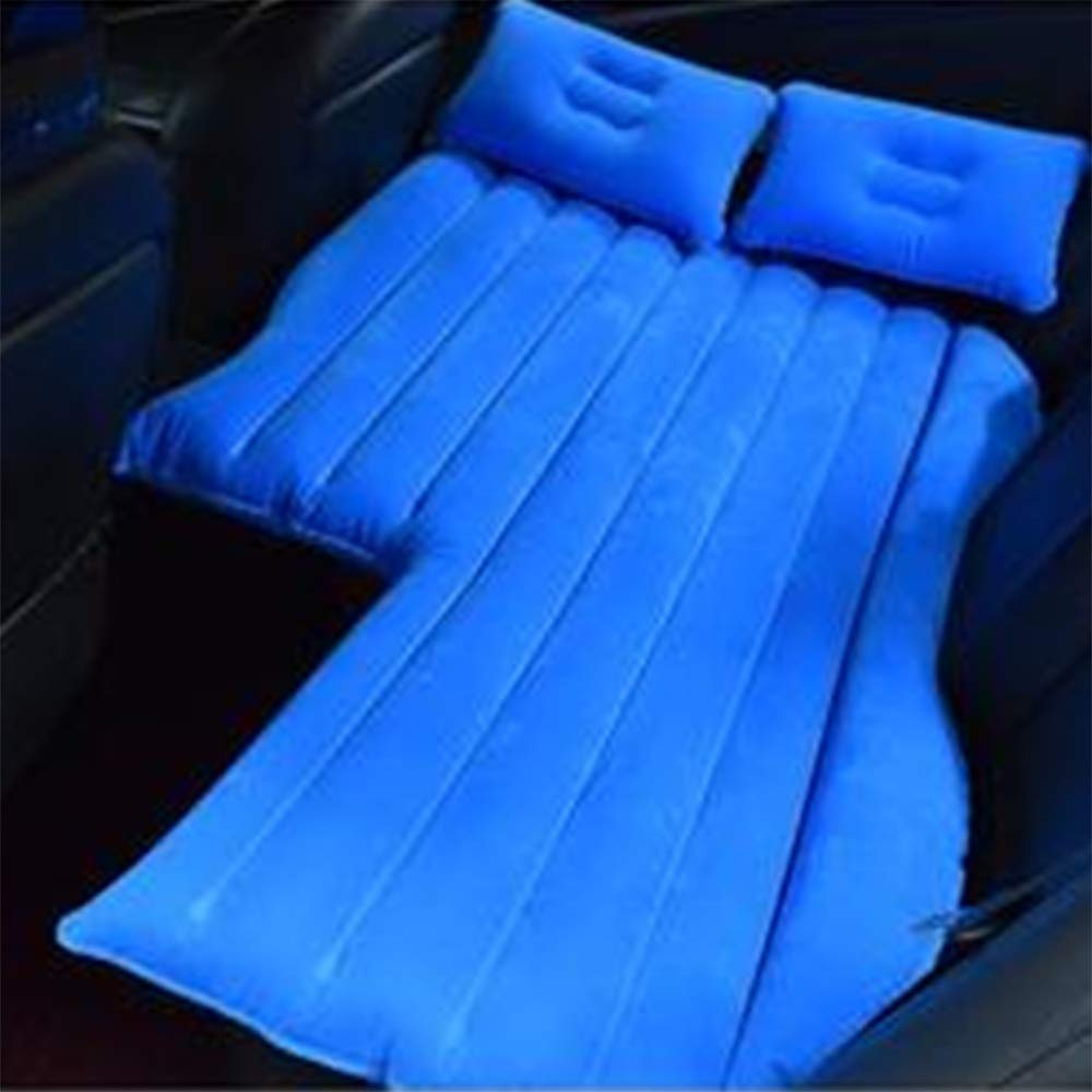 ZXQZ Car Inflatable Bed Car Universal Movable Air Bed Portable Air Bed For Adults Outdoor Travel Anti-fall Children's Shockproof Bed Air Mattresses (Color : Blue, Size : 2#)