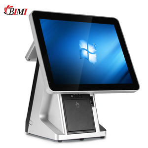 Bimi 15 inch All in one touch screen Point Of Sale Terminal/POS System(Factory) with 80mm built-in printer and MSR