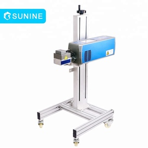 high quality fiber laser date coding mini fling marking machine for battery
