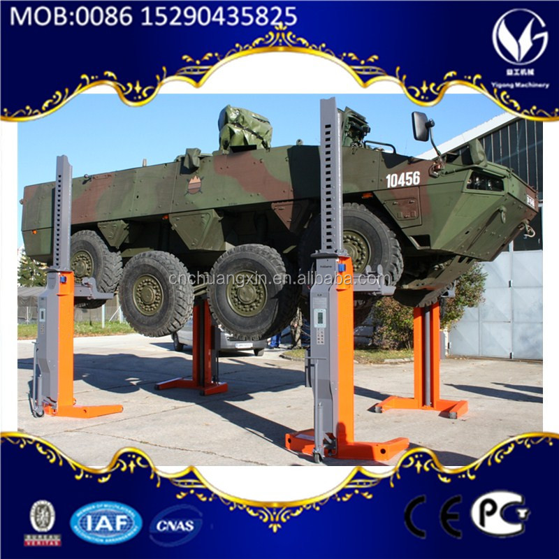 Mid rise 4 post car lift price from China factory