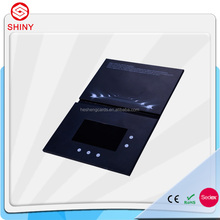 Custom design video display player production 2gb 4.3inch Video Brochure Cards for Presentations Digital