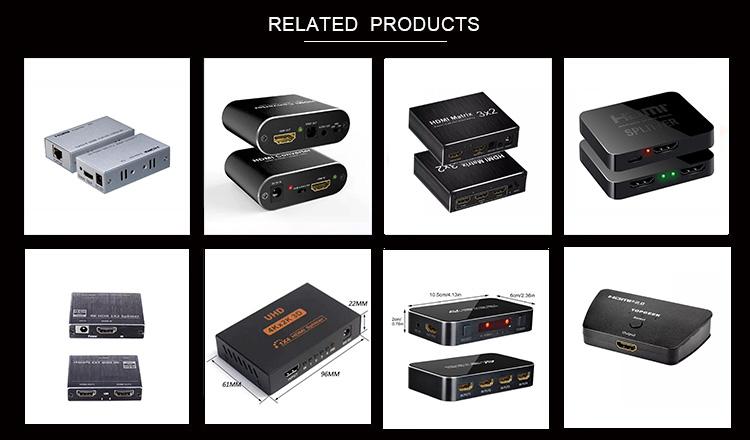 HDMI splitter 3D 4 k hdmi splitter hỗ trợ 1x4 hdmi splitter