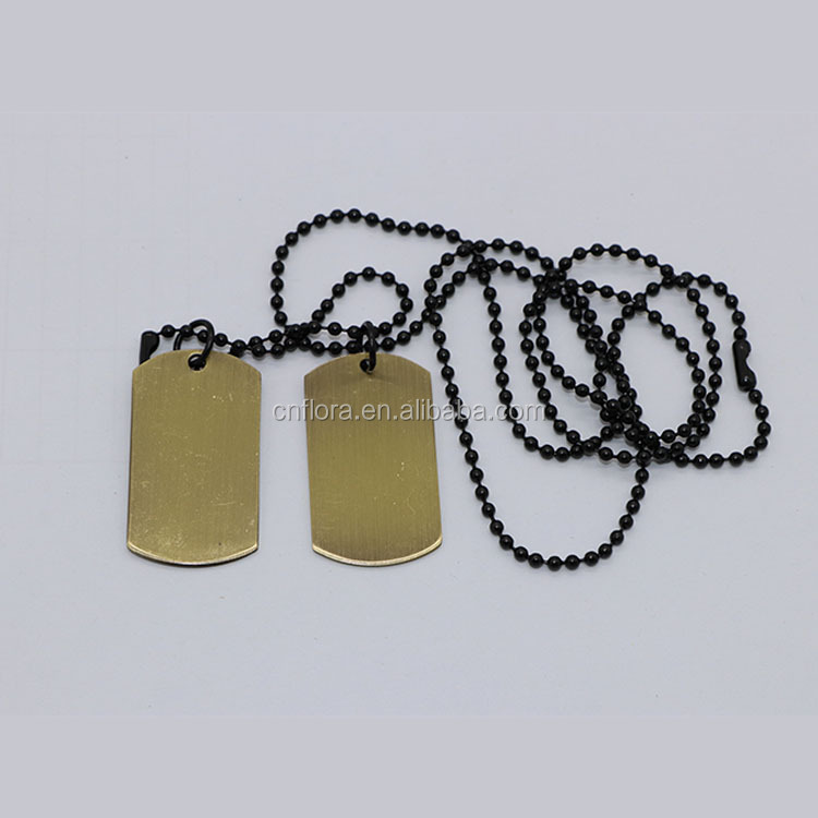 Custom logo blank alloy metal military dog tag stamped jewelry tags,best gift for military army dog tag
