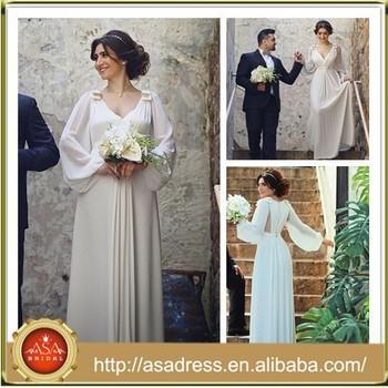 Sma5 Vintage Beach Casual Style Long Sleeve Summer Chiffon Top Designer Wedding Dresses Buy Top Designer Wedding Dresses Chiffon Top Designer
