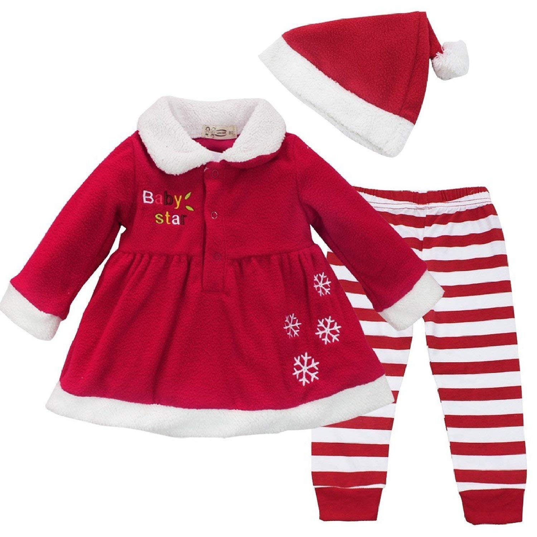 e7ade2f464e7 Cheap Baby Girls Santa Dress