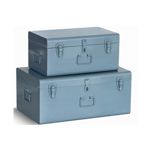 Aluminum alloy industrial portable multicolor Metal Trunk and toolbox