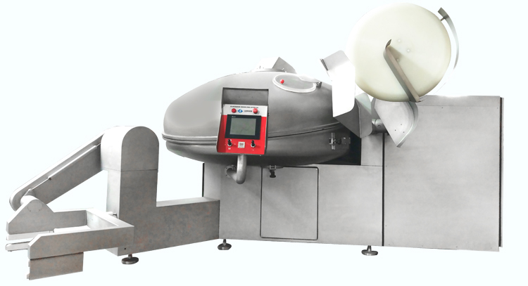 ZKZB-530 sus304肉ソーセージ真空ボウルチョッパー鶏肉ボウルカッター産業肉ボウルチョッピングマシン価格