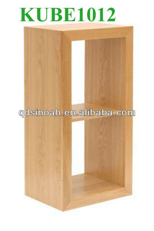 eiche massiv 2 l cher anzeige cube w rfel regal wohnzimmer m bel andere holzm bel produkt id. Black Bedroom Furniture Sets. Home Design Ideas