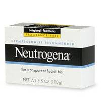 Neutrogena Transparent Facial Bar, Original Formula, Fragrance Free, 3.5 Ounce