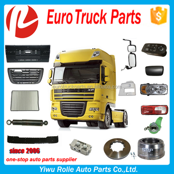 Heavy Duty Truck Spare Parts DAF XF 95 105 106 Parts High Quality Daf Truck Parts