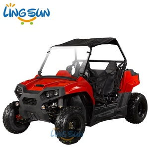 CE Approved 150/200cc GY6 Engine Gasoline UTV Go Kart with 2 Seat (G7-09)