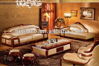 Morden Thai Asian Living Room Furniture,Luxury Genuine Laether Living Room  Sofa Set,Malaysia Living Room Sectioal Sofa Set, View elegant living room  ...