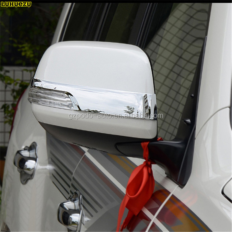 Chrome side mirror cover trim For Toyota TOYOTA Land cruiser FJ200 2012-2018
