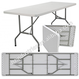 Manufacturer of plastic trestle table for sale