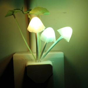 High quality LED nite light for decoration and mushroom night lamp for children