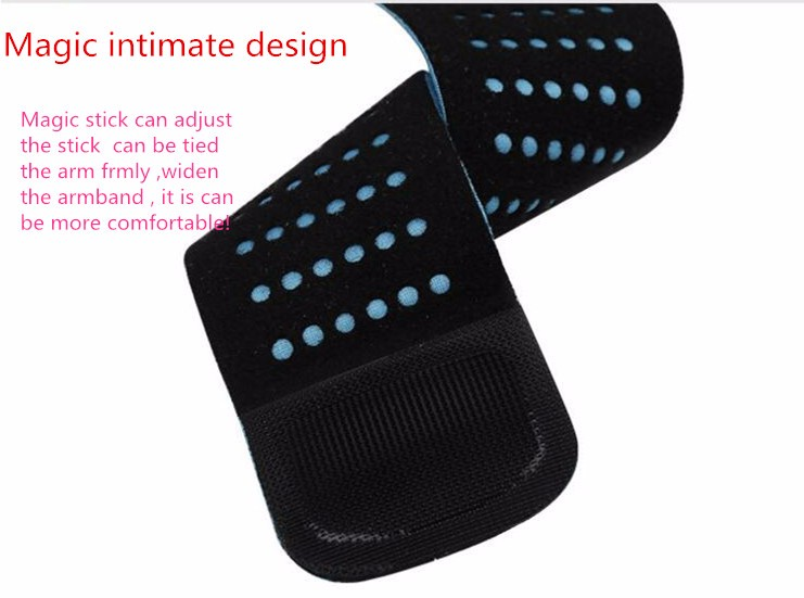 HAISSKY Unisex Running Jogging Sport Armband Gym Arm Band Case Cover for iPhone 6/6s/7
