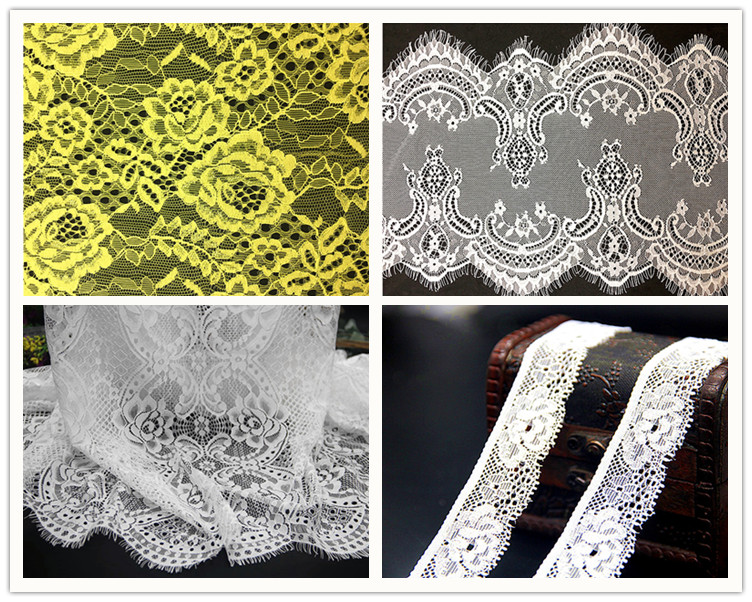 2018 Special Design and Good Quality Elastic Textronic Lace Trims