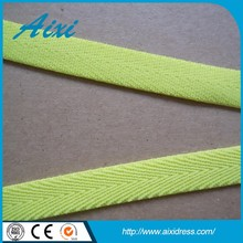 Good quality low price cotton woven webbing belt bias tape
