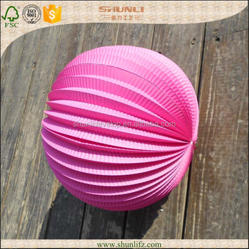 Wedding Decorations Accordion Paper Lanterns Origami Ball Buy