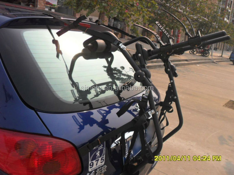Bike Rack/auto bike tranporting holer/travelling car bicycle carrier holder