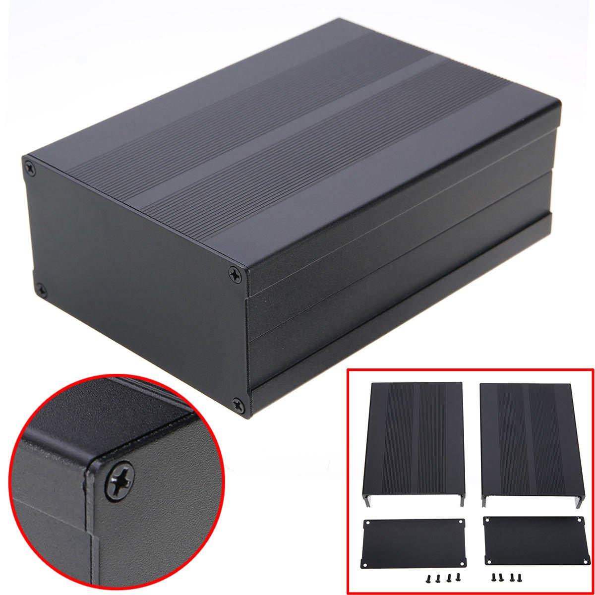 Enclosure Case Aluminum Box,DIY Enclosure Case Aluminum Box Circuit Board Project Electronic 150X105X55MM By E-UNIONA