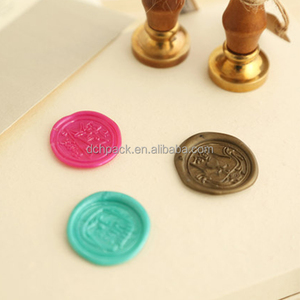 customized antique wax seal stamps for christmas new year card