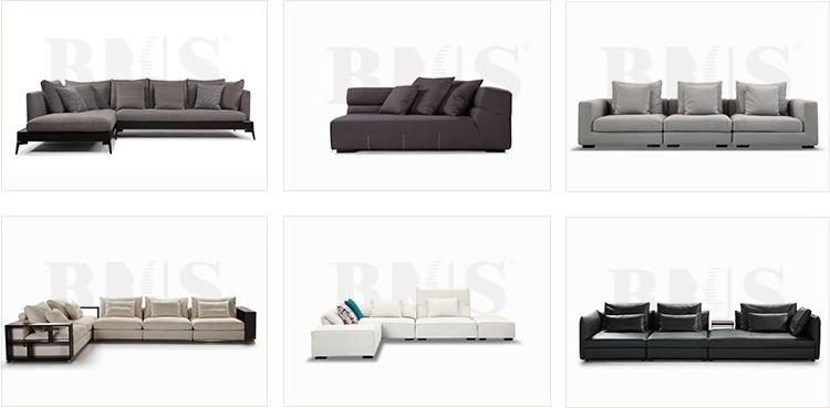 2017 New Design Wooden Arm Style U Shape Simple Sofa Set
