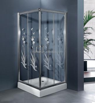 80x80 Quadratische Duschkabine Mit 6 Mm Gehärtetem Glas Und 1,2 Mm  Aluminium - Buy Dusche Cubin,Platz Duschkabine,80x80 Platz Duschkabine  Product on ...