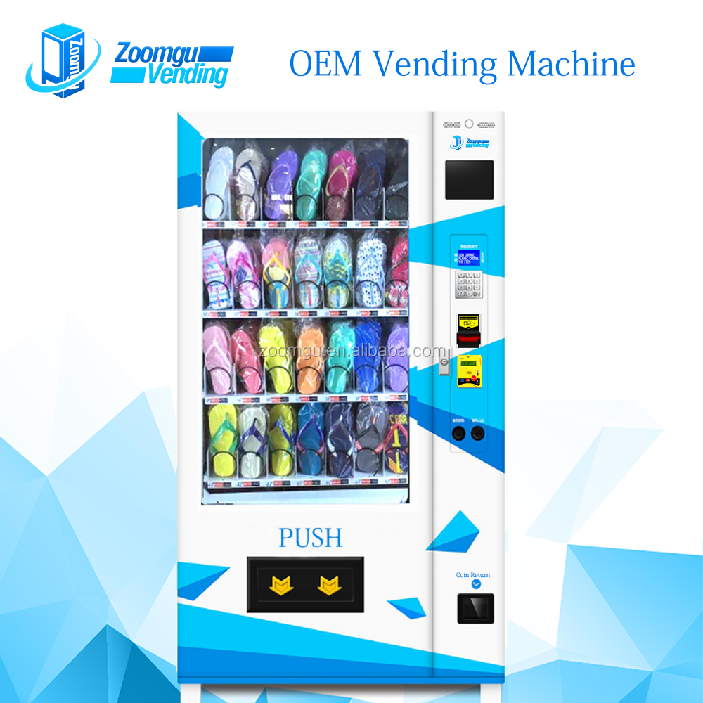 Zoomgu OEM/ODM Sunglasses T-Shirt Socks Shoes Vending Machine