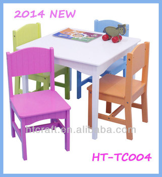 Ht Tc004 Classical Style Strong Colorful Wooden Children