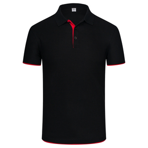Mens Customize Logo Dry Fit Golf Polo Short Sleeve Shirt Athletic Short-Sleeve Polo Golf Shirts
