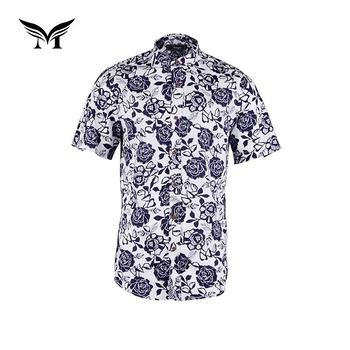 610e7e769 Latest design eco friendly custom rayon printed casual aloha hawaii shirt  men
