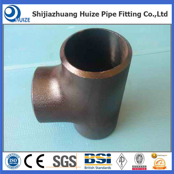carbon steel pipe fittings a234 wpb sch20 sch40 sch 80 sch160 tee/equal tee/seamless
