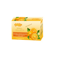 Lifeworth organic bulk orange flavor vitamin c powder with vitamin b complex