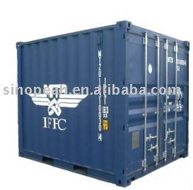 Contenedores mar timos 10ft iso env o contenedor de carga - Contenedores maritimos baratos ...