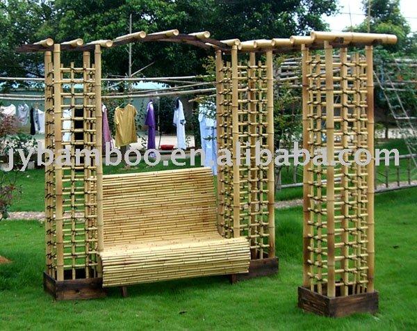 Gazebo de bambu lazer gazebos id do produto 207197675 - Pergola bambu ...