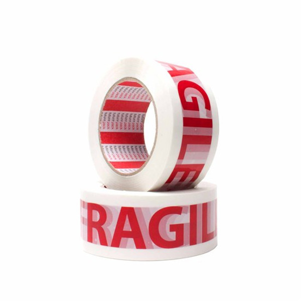 fragil logo printed bopp packaging tape