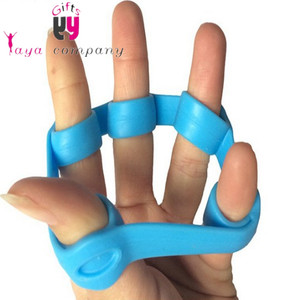Finger rehabilitation training therapy Products/silicone hand grips finger stretcher
