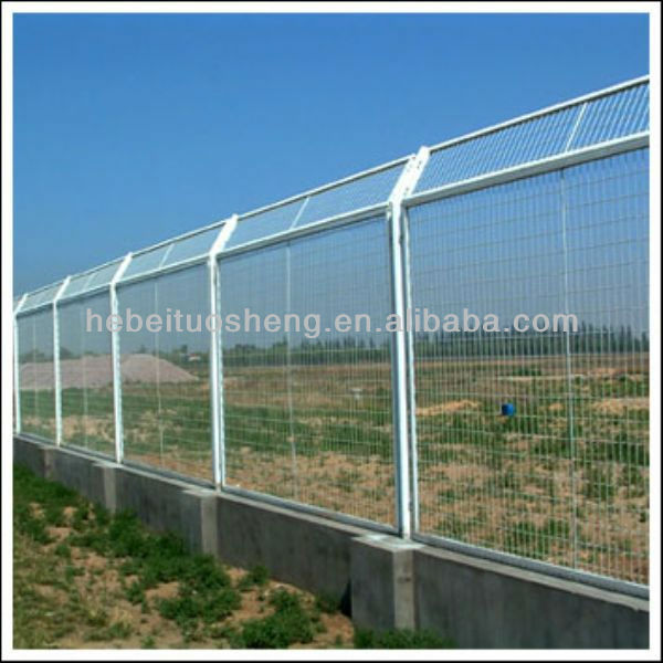 2x4 Welded Wire Mesh Fence Designs For Expresswaywith Pvc Coated ...
