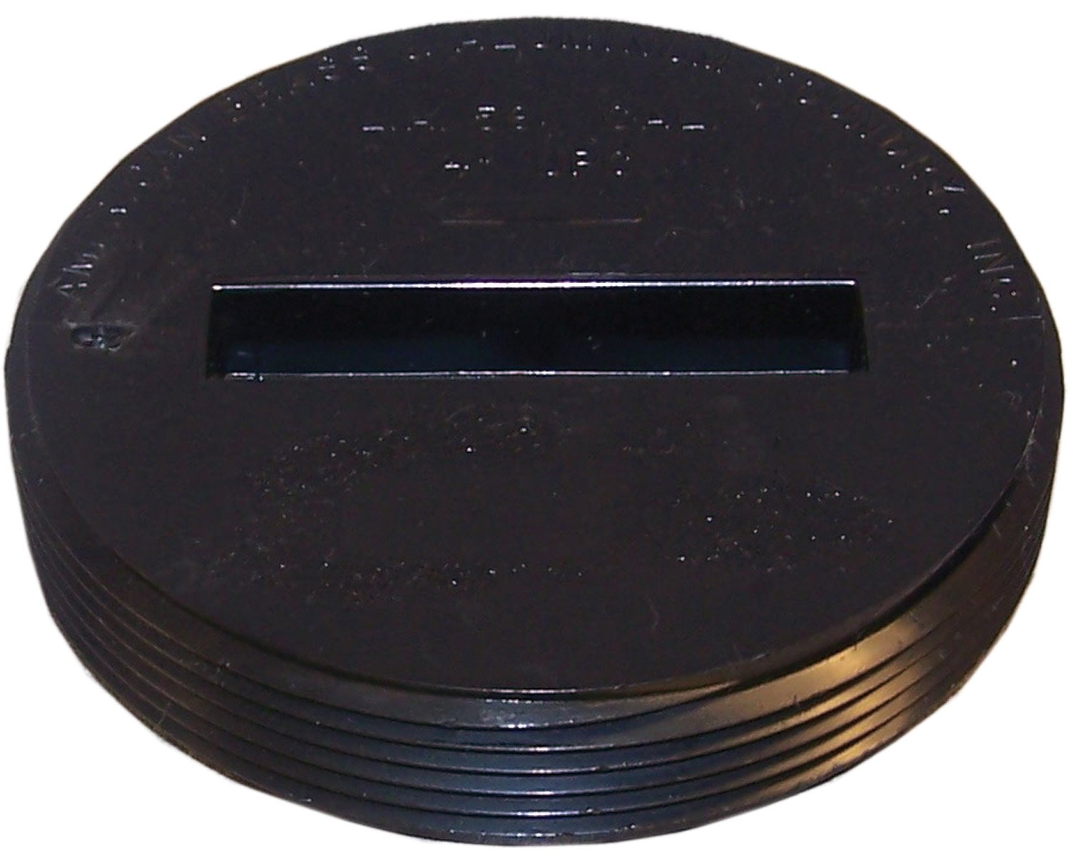 Genova Products 81853 ABS Counter Sunk Plug, 3""