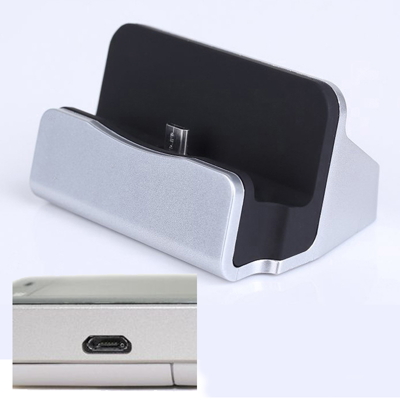 Micro USB Base For HTC One S Desire X Sensation XL One X/XL Desire 300 Universal Mobile Phone Desktop Chargering