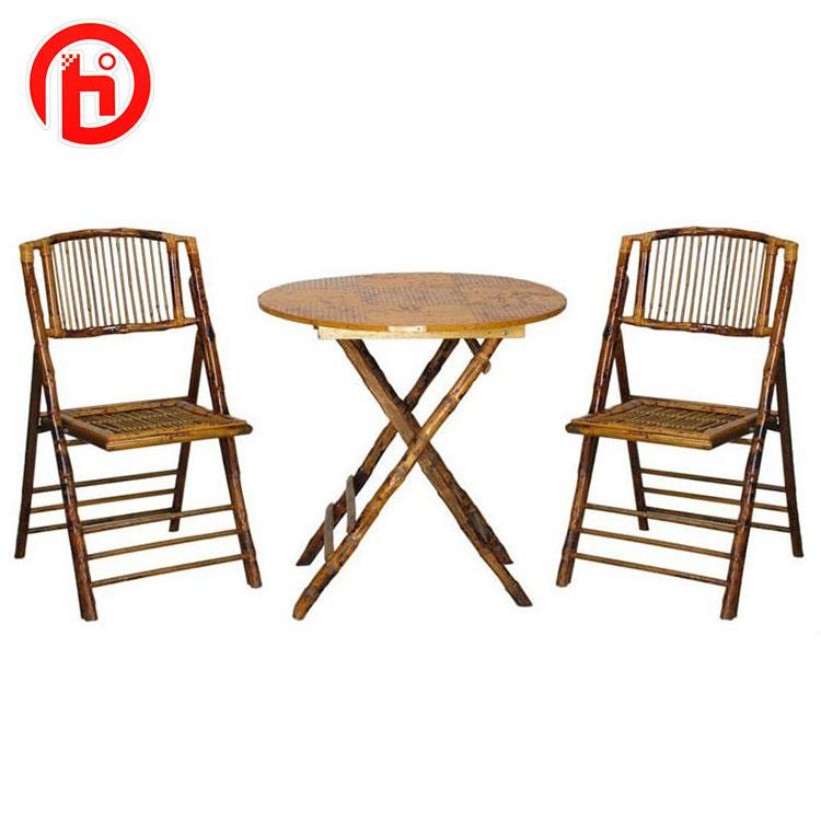 Groovy Rattan And Bamboo Garden Folding Table And Chair Set Buy Garden Table And Chair Folding Table And Chair Bamboo Table And Chair Product On Evergreenethics Interior Chair Design Evergreenethicsorg