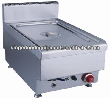 Stainless Steel Table Top Gas Soup Bain Marie