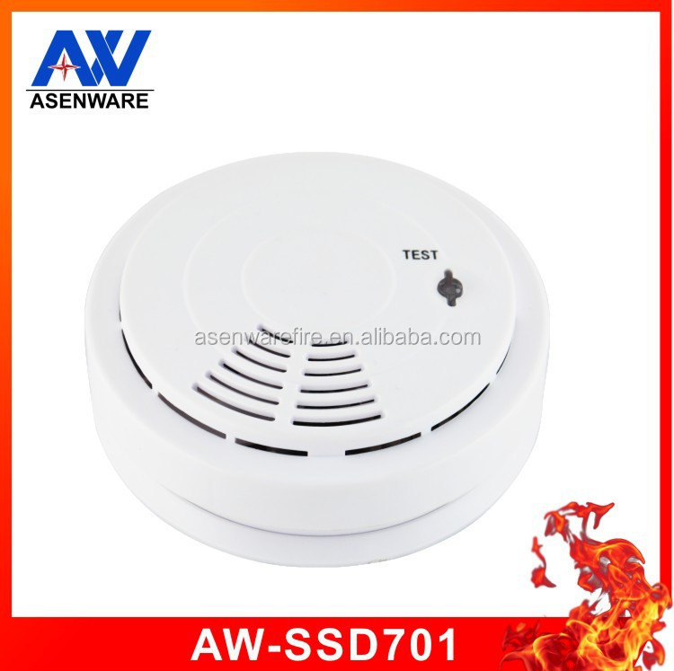 Cheapest home fire alarm security 9V battery smoke fire alarm and cheap plastic smoke detector